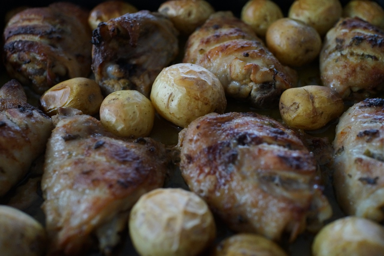 Tarragon and Mustard Chicken