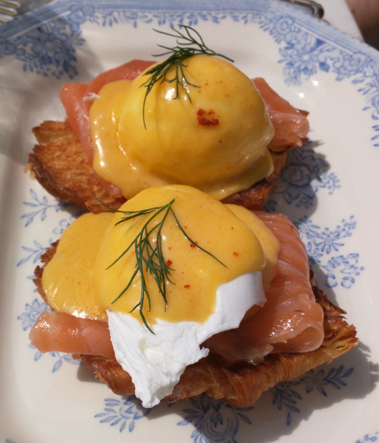 Eggs Royale with Lyderson Smoked Salmon
